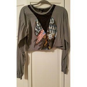 Cropped Lynrd Skynrd Shirt